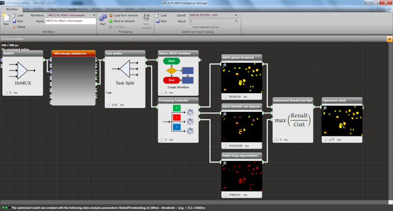 ARCO workflow for Nikon microscopes